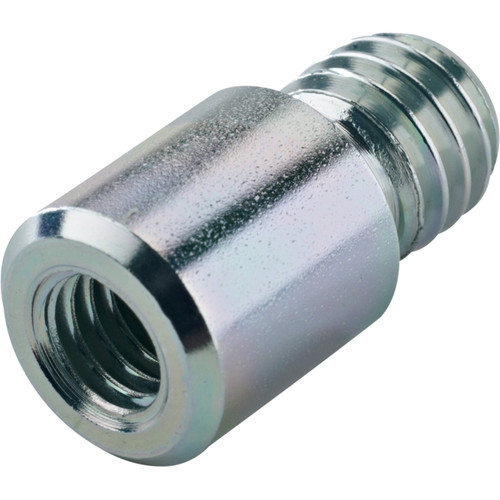 "K&M 3/8"" to 1/2"" Thread Adapter (Zinc-Plated)"