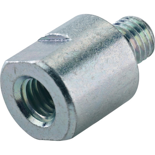 "K&M Zinc-Plated Thread Adapter (3/8"" Female, Male 10 x 12mm)"