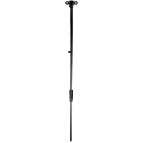 K&M Ceiling Mount Microphone Stand (Steel) (Black)
