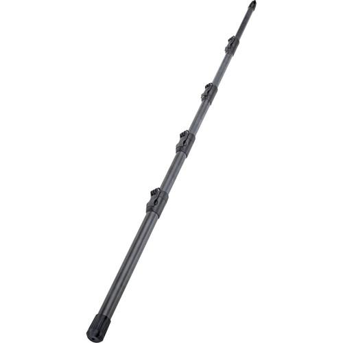 K&M 23785 5-Piece Carbon Fiber Microphone Boompole (Black, 9.3')