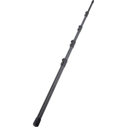 K&M 23790 5-Piece Carbon Fiber Microphone Boompole (Black, 12.6')
