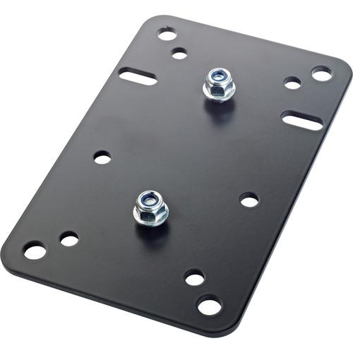 K&M Adapter Panel 1 Vertical Universal Mounting Bracket (Black)