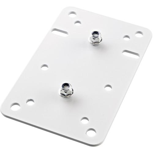 K&M Adapter Panel 1 Vertical Universal Mounting Bracket (White)