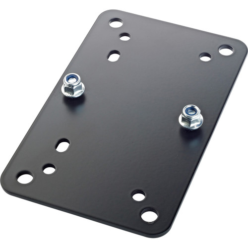 K&M Adapter Panel 2 Horizontal Universal Mounting Bracket (Black)