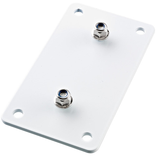 K&M Adapter Panel 3 Vertical Mounting Bracket (White)