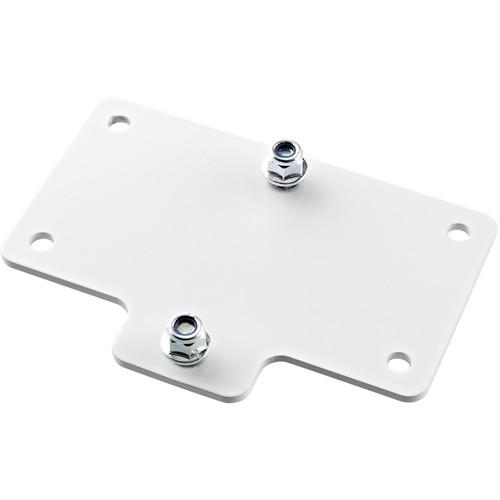 K&M Adapter Panel 4 Horizontal Mounting Bracket (White)
