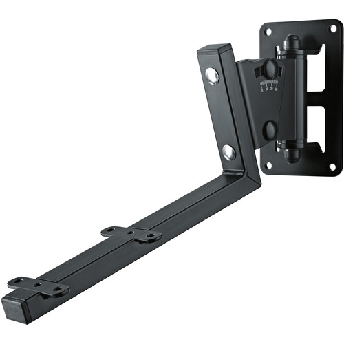 K&M 24484 Speaker Wall Mount (Black)