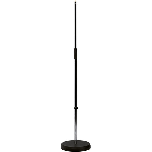 K&M 260 Round Base Microphone Stand (Chrome)