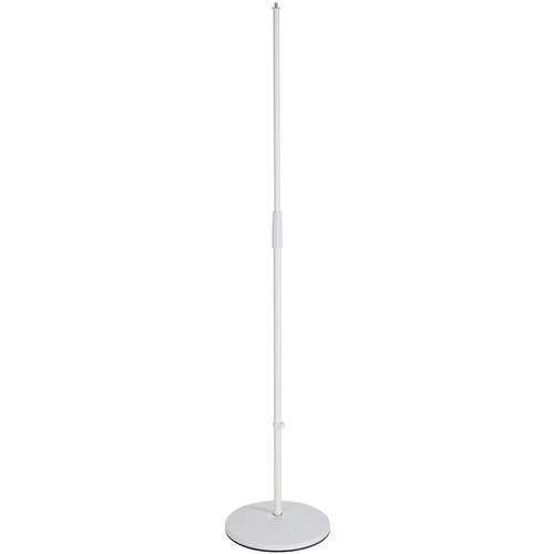K&M Microphone Stand with 26125 Base (White)