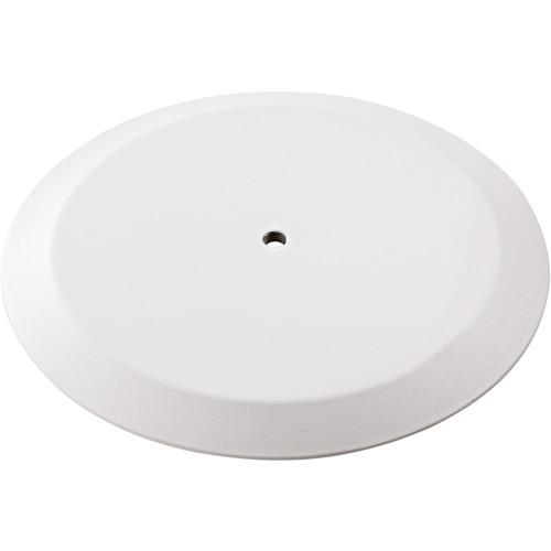 K&M 26700 Flat Round Base Plate (Pure White)