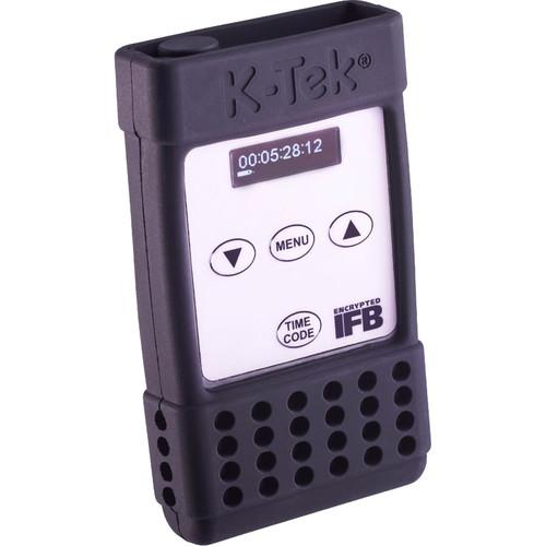 """K-Tek Stingray Holder with Touch-Tab Fastener & 1/4""""-20 Insert for Zaxcom ERX Receiver"""