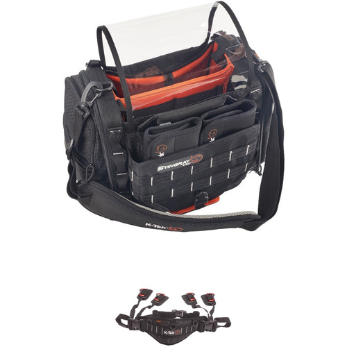 K-Tek Stingray Small Audio Mixer Recorder Bag and Waist Belt Kit