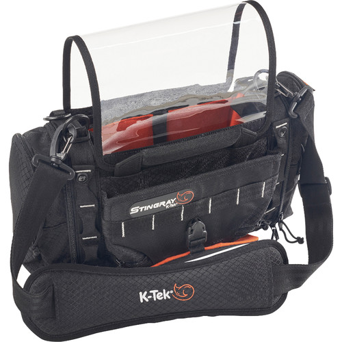 K-Tek Stingray Junior Audio Mixer/Recorder Bag with Rain Bib Kit