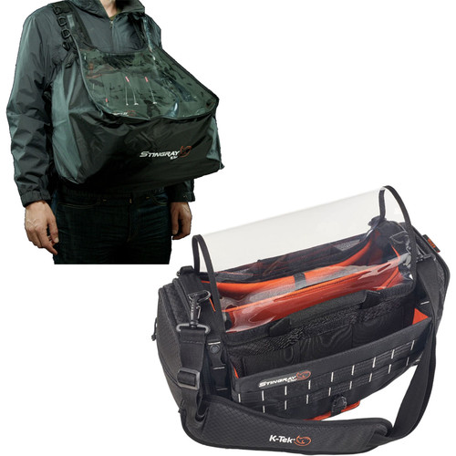 K-Tek Stingray Large Audio Mixer/Recorder Bag with Rain Bib Kit