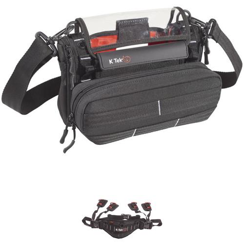 K-Tek Stingray MixPro Audio Bag and KSWB1 Waist Belt Kit