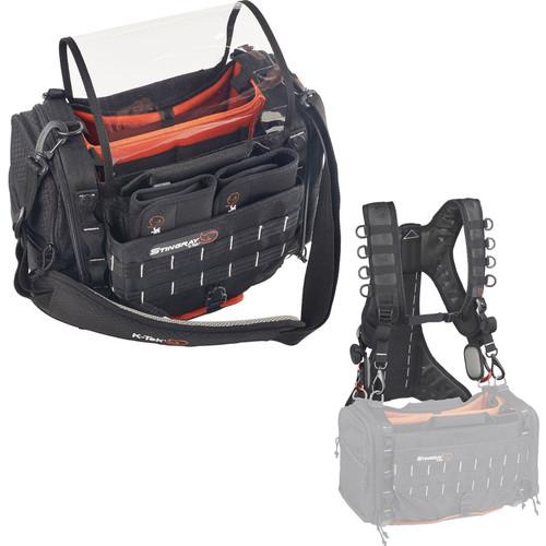 K-Tek Stingray Small Audio Mixer/Recorder Bag and Harness Kit
