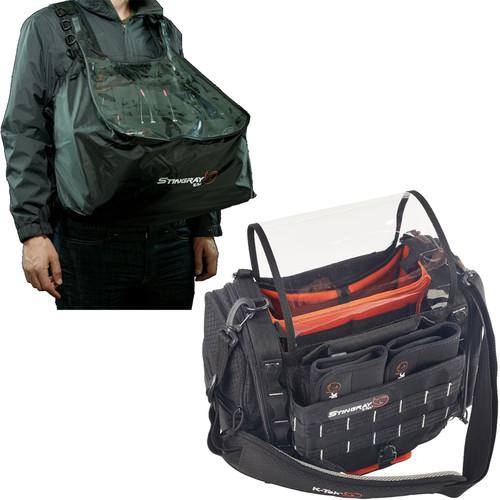 K-Tek Stingray Small Audio Mixer/Recorder Bag with Rain Bib Kit
