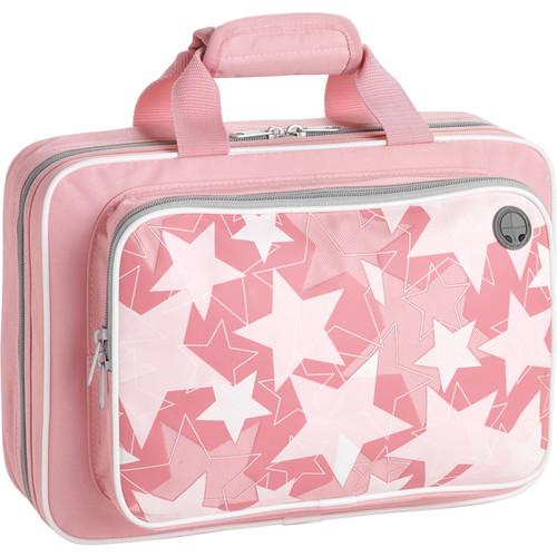 KACES Grafix Clarinet Case (Pink Stars Design)