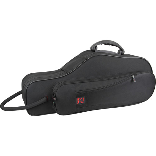 KACES Lightweight Hardshell Alto Sax Case (Black)