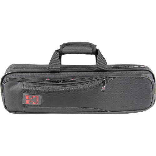 KACES Lightweight Hardshell Flute Case (Black)