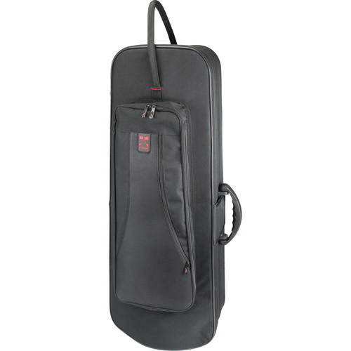 KACES Lightweight Hardshell F-Attachment Trombone Case (Black)