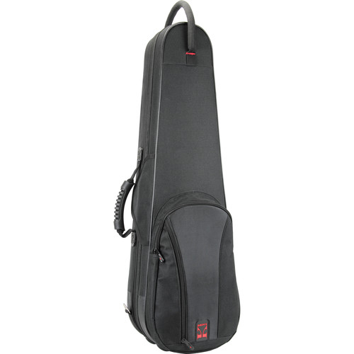 KACES KBF-VL12 Duet Series Lightweight Violin Case (1/2-Size, Black)