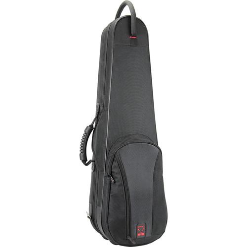 KACES KBF-VL44 Duet Series Lightweight Violin Case (4/4-Size, Black)