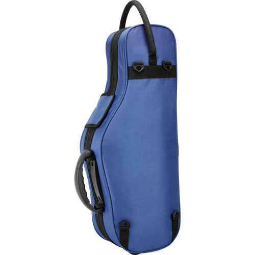 KACES Lightweight Hardshell Alto Sax Case (Blue)