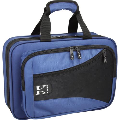 KACES Lightweight Hardshell Clarinet Case (Blue)
