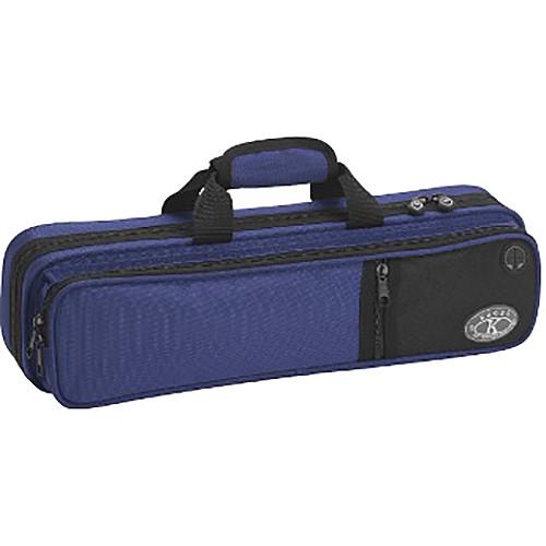 KACES Lightweight Hardshell Flute Case (Dark Blue)