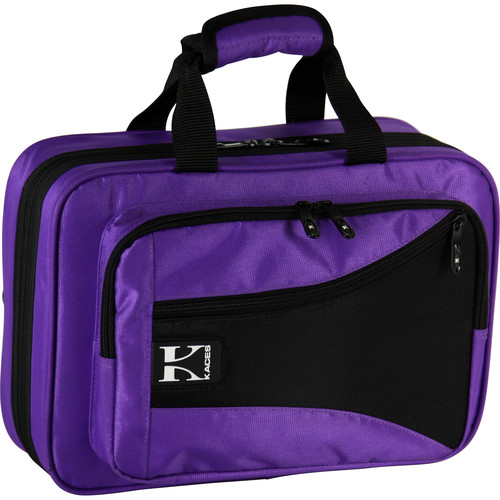 KACES Lightweight Hardshell Clarinet Case (Purple)