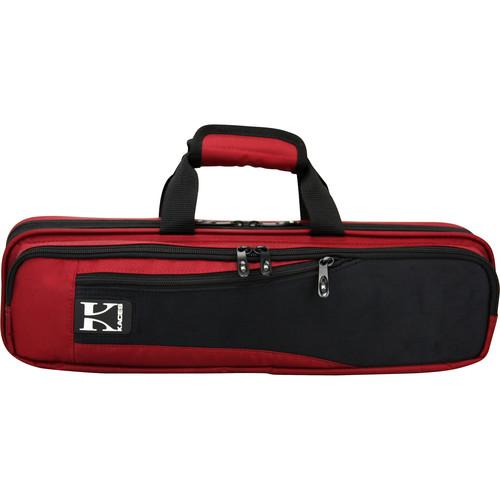 KACES Lightweight Hardshell Flute Case (Red)