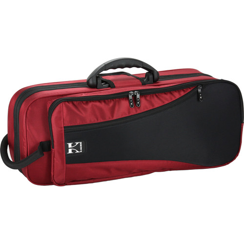 KACES Lightweight Hardshell Trumpet Case (Dark Red)