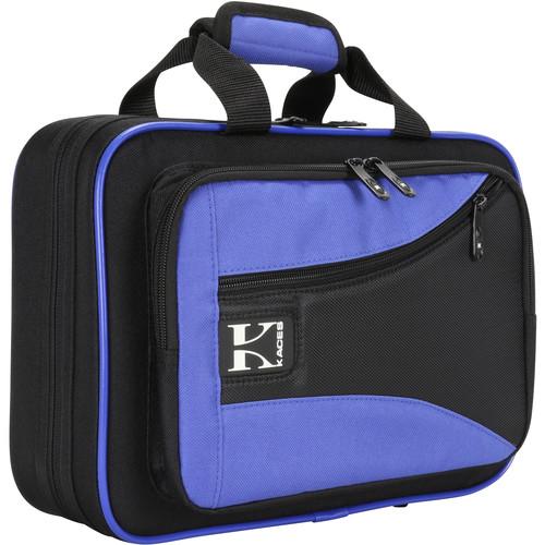 KACES Lightweight Hardshell Case for Clarinet (Blue/Black)