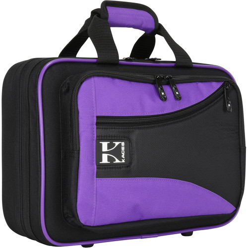 KACES Lightweight Hardshell Case for Clarinet (Purple/Black)