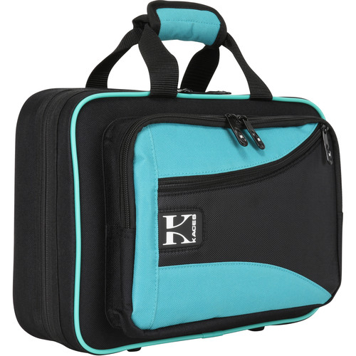 KACES Lightweight Hardshell Case for Clarinet (Teal/Black)