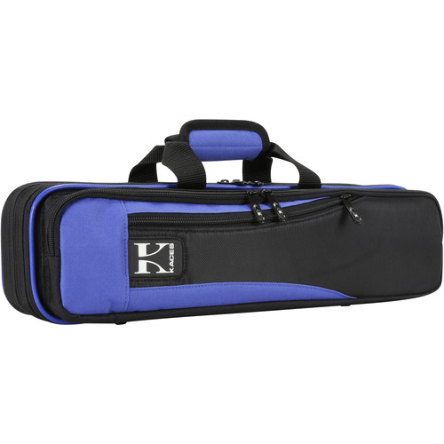 KACES Lightweight Hardshell Case for Flute (Blue/Black)