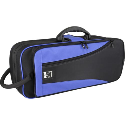 KACES Lightweight Hardshell Case for Trumpet (Blue/Black)