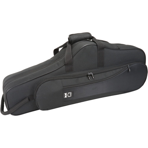 KACES Lightweight Hardshell Case for Tenor Saxophone (Black)