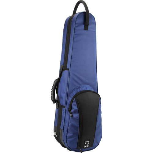 KACES KFV44BL Duet Series Lightweight Violin Case (4/4-Size, Blue)