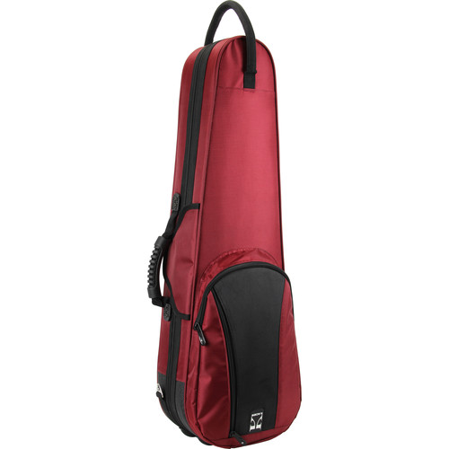 KACES KFV44RD Duet Series Lightweight Violin Case (4/4-Size, Red)