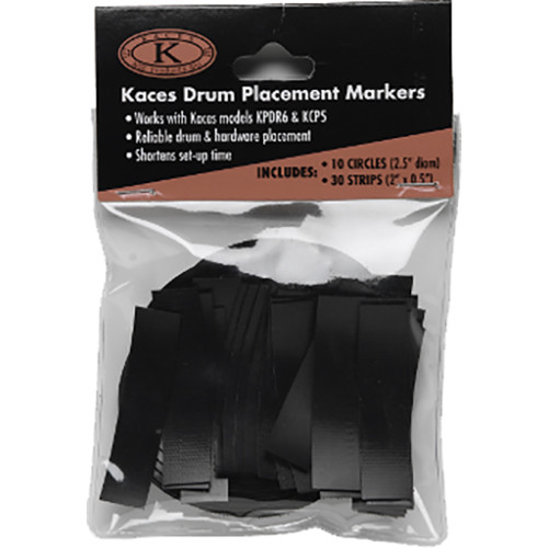 KACES Placement Marker Set for KPDR6/KCP5/KCP45 Drum Rug