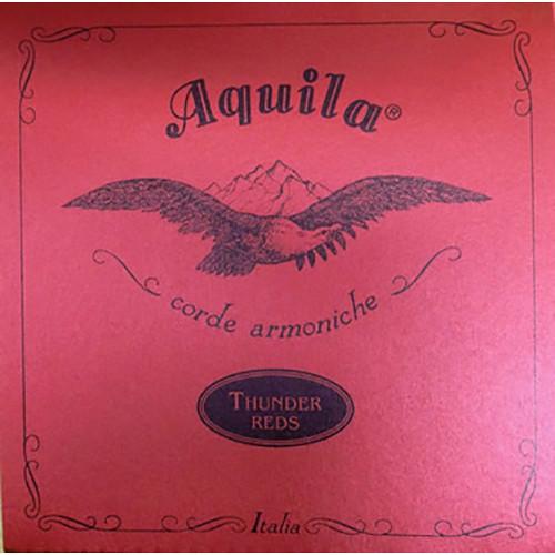 KALA Aquila Thundergut U-Bass Strings (4-String Set, Red)