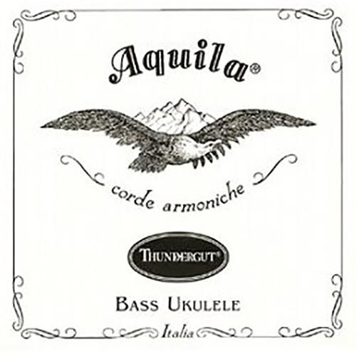 KALA Aquila Thundergut U-Bass Strings (4-String Set, White)