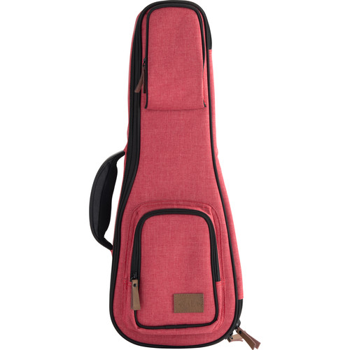 KALA Sonoma Coast Collection Soprano Ukulele Case (Red)