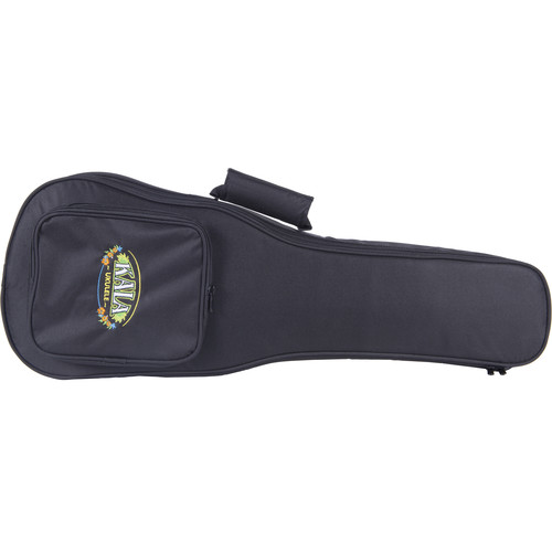 KALA Deluxe Ukulele Bag with Accessory Pocket (Soprano, Kala Logo)