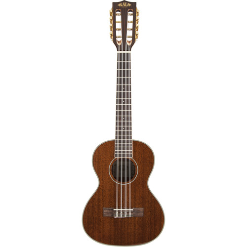 KALA Gloss Mahogany Series Tenor Ukulele (Eight-String)