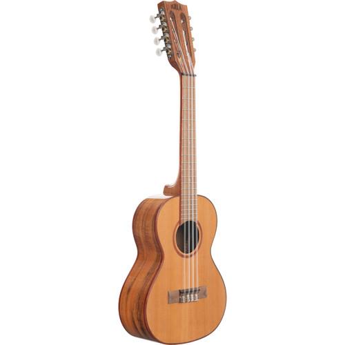 KALA Gloss/Solid Cedar/Acacia 8-String Tenor Ukulele
