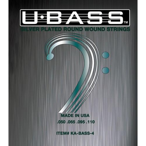 kala silver plated roundwound u bass strings ka bass 4 b h photo. Black Bedroom Furniture Sets. Home Design Ideas