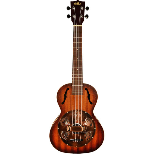 KALA KA-RES-BRS Resonator Tenor Ukulele (Brass Cone)